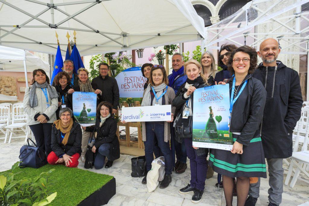 France, Alpes Maritimes (06), Saint Jean Cap Ferrat Festival des Jardins 2017, remise des prix