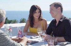 Blogueur Mickael Mugnaini et Journaliste Chelsea Cannell - Tournage Emission Ovation TV - Blog Mister Riviera - Ambassadeur Cote dAzur France