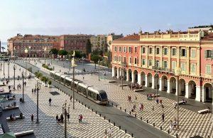 Place Massena vue des Galeries Lafayette Nice - Photo Mickael Mugnaini - Blog Mister Riviera - Ambassadeur Cote dAzur France