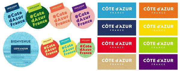 Stickers Côte d'Azur France
